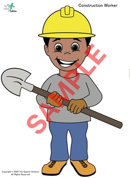 Careful Construction Worker