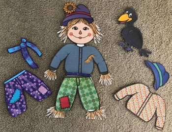 Thanksgiving - Scarecrow Scraps