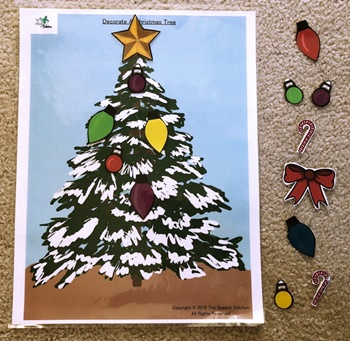 Christmas - Decorate A Christmas Tree